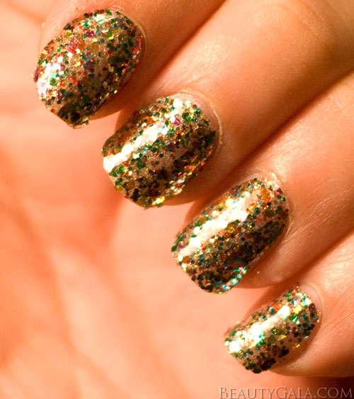 how to get glitter nail polish off easier