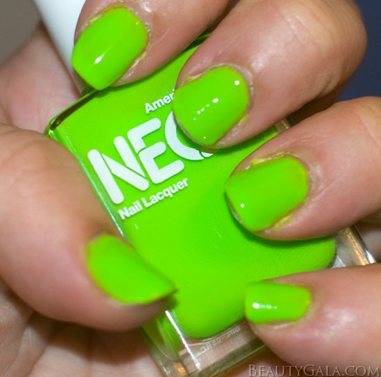 NEON St. Patrick\'s Day Nails: American Apparel Neon Green Nail ...
