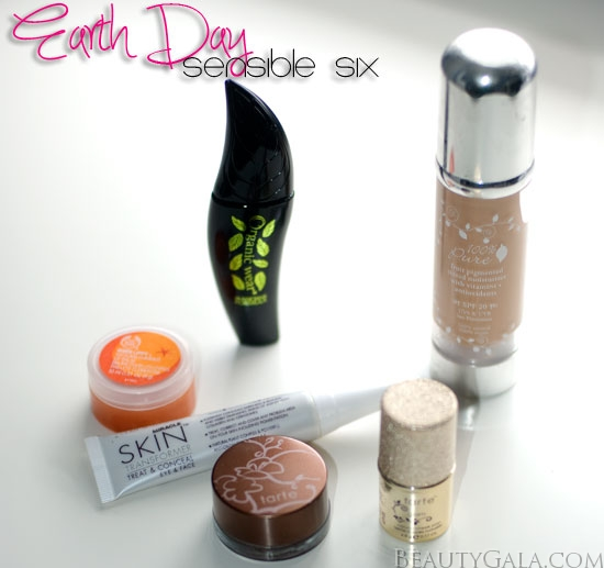 <u><strong><center>Earth Day 2012, Sensible Six Beauty Products: Makeup</u></strong></center>