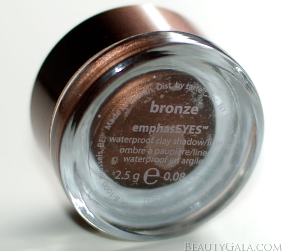 <u><strong><center>Tarte Cosmetics emphasEYES Waterproof Shadow/Liner</u></strong></center>