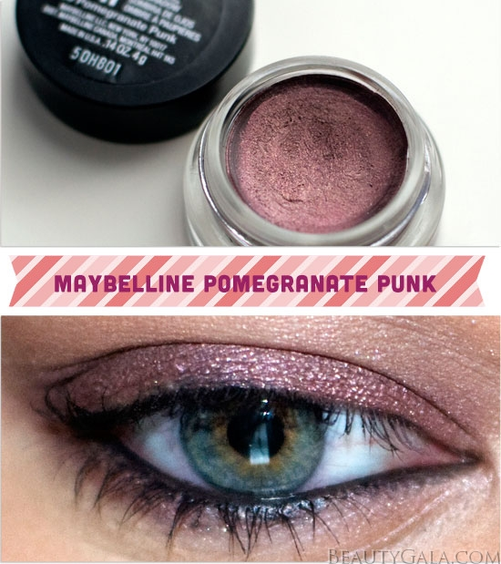 maybelline 24hr color tattoo eyeshadow pomegranate punk