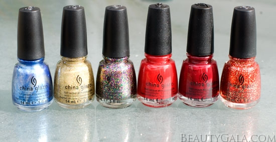 China Glaze Holiday Joy Collection, Photographs, Review & Swatches