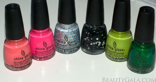 China Glaze Cirque du Soleil Worlds Away Collection, Photographs, Review, & Swatches