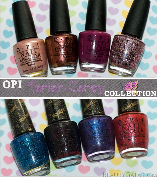 OPI Mariah Carey Collection, Photographs, Review, & Swatches