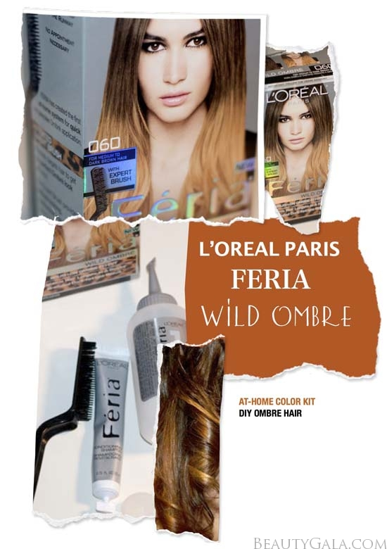 New Loreal Paris Feria Wild Ombre Hair Kit Photographs Review