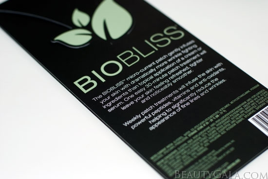Biobliss eye patch review