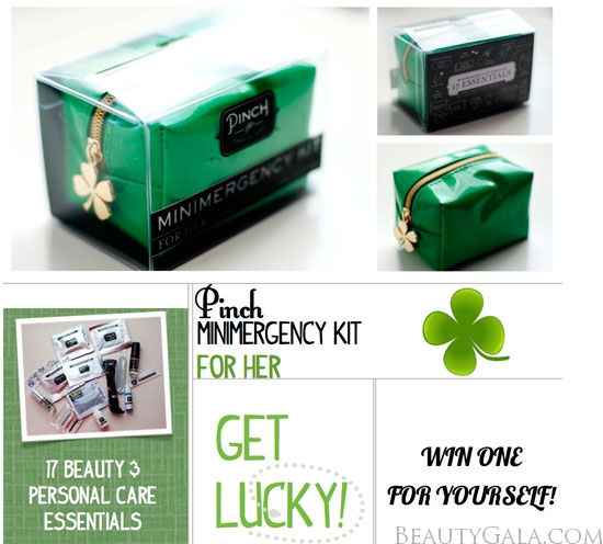 Pinch Good Luck Minimergency Kit For Her, Photographs, Review, & GIVEAWAY!