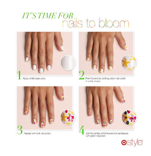 Floral Nail Tutorial - FOR REFERENCE ONLY