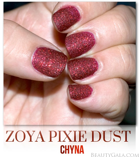 The Zoya Pixie Dust Collection Is Available In Six Shades Including Chyna Each Nail Polish Retails For 900 USD And Can Be Found At Ulta Stores