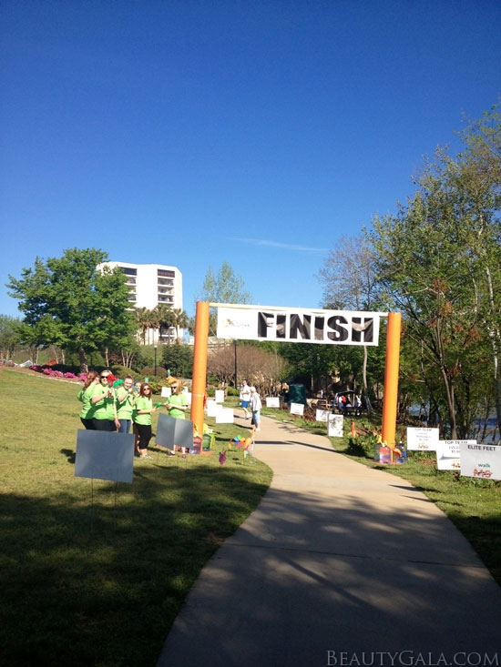 The FINISH line!