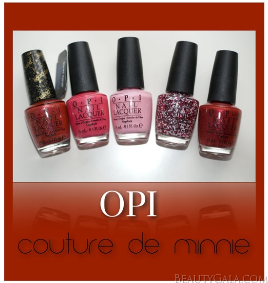 OPI Couture de Minnie Collection, Photographs, Review, & Swatches