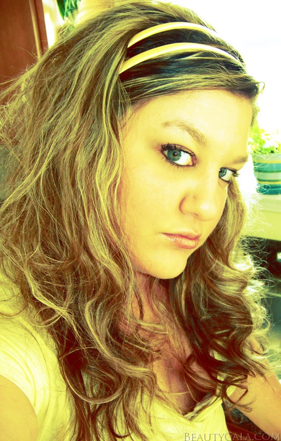 My hair back in 2008, blonde and very, very long