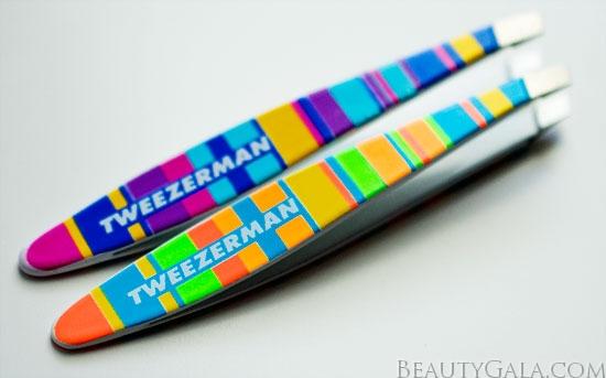 My Favorite Tweezers Ever: Tweezerman Striped Mini Slant Tweezers