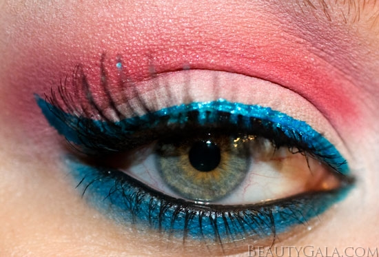 Fourth of July Makeup Look!
