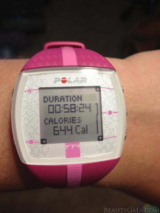 My Polar heart rate watch!