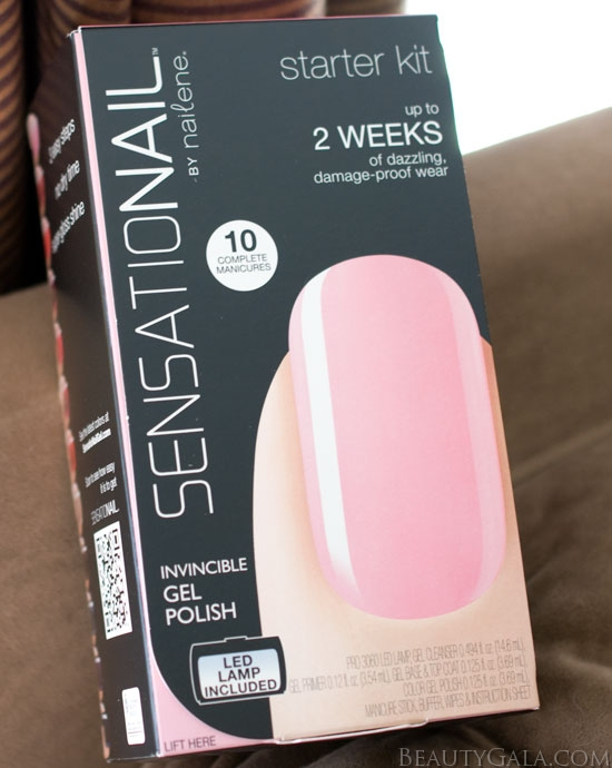 I Was Sent The SensatioNail Invincible Gel Polish Starter Kit And The Rock  My Emerald Gel Polish. The Starter Kit Comes With One Gel Polish Shade  Already ...