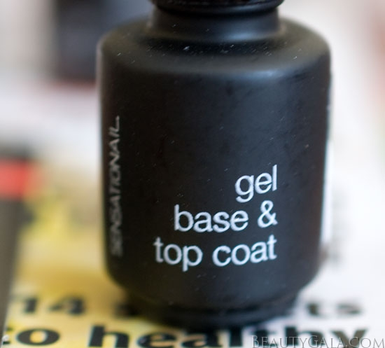 Gel Polish At Home: Get A Salon Manicure At Home! SensatioNail Invincible Gel
