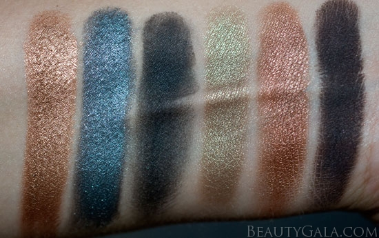 Ulta's 21 Days of Beauty, Day 19: Cargo Vintage Escape Fall Eyeshadow Palette Swatches & Review!