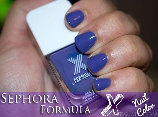 Sephora Formula X Nail Polish Indelible Swatches