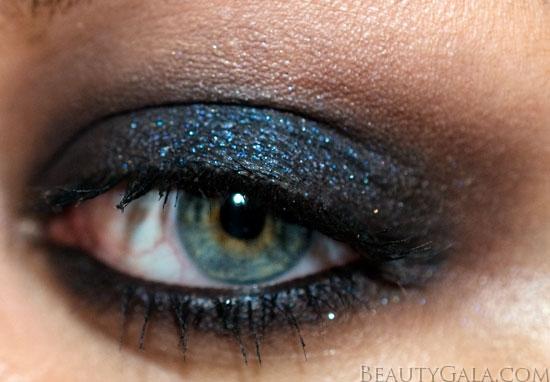 Dark Blue Smokey Eye Makeup Look  Dark Blue Smoke...
