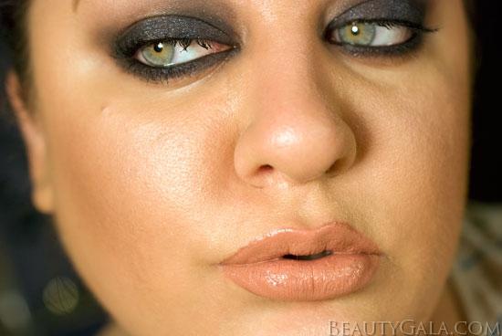 Dark Blue Smokey Eye Makeup Look | Beauty Gala