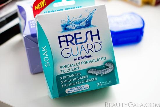efferdent fresh guard wipes