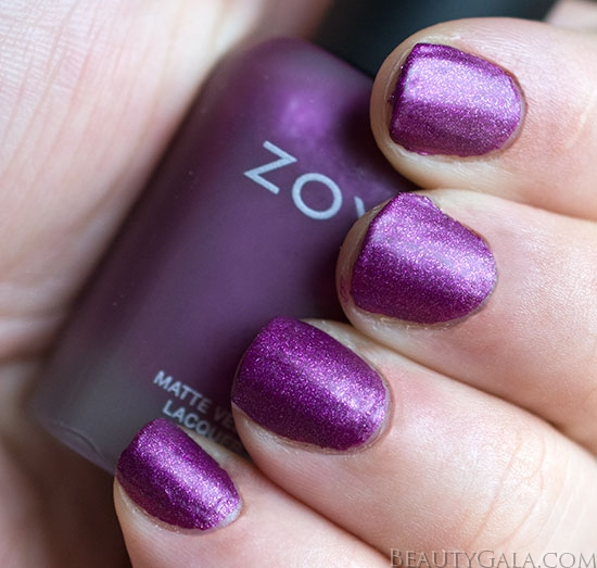Fall 2014 Zoya Matte Velvet Nail Polish Swatches Review