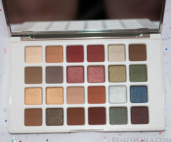 Sephora Facets of Marsala Palette (with flash)