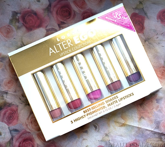 Kohl's Exclusive LORAC Alter Ego Lipstick Collection Gift