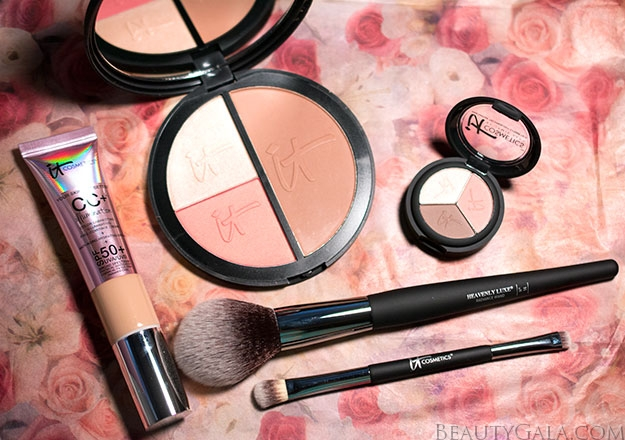 IT Cosmetics CC+ Your Way To Radiant Skin Five-Piece Collection Review, Swatches, & Look