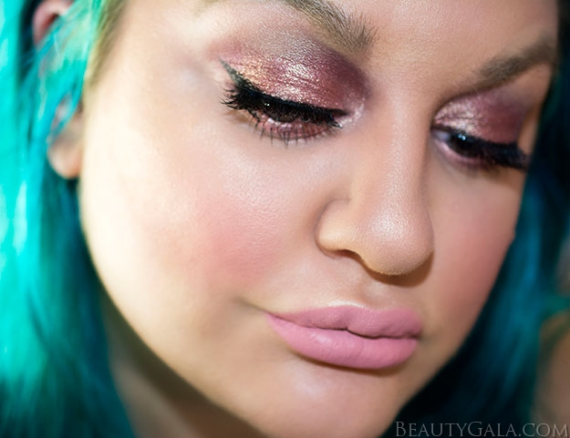Sparkly All Pink Makeup Look & Tutorial