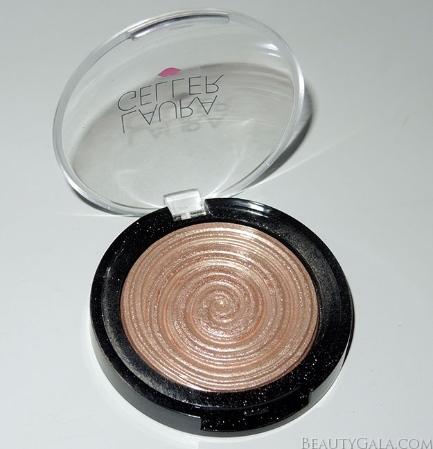 Laura Geller Baked Gelato Swirl Illuminator in Gilded Honey Swatches & Review