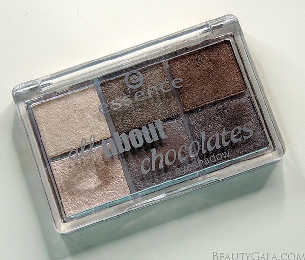 "Under $5 Grey Smoky Eyes featuring the Essence ""All About Chocolates"" Eyeshadow Palette"