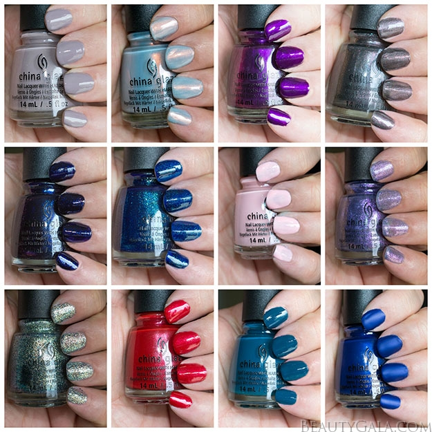 China Glaze Rebel Collection, Fall 2016