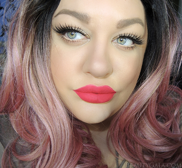 "Hot Pink Lips // Anastasia Beverly Hills Liquid Lipstick in ""Carina"""