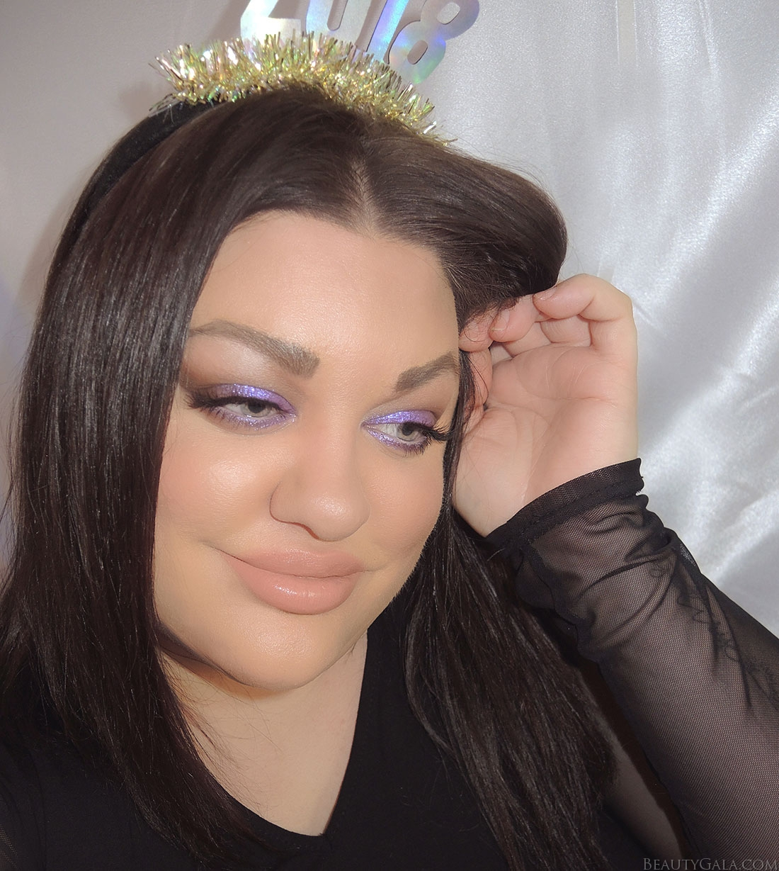 new years eve makeup, colourpop dare, jaclyn hill morphe, jaclyn hill palette, purple eyeshadow