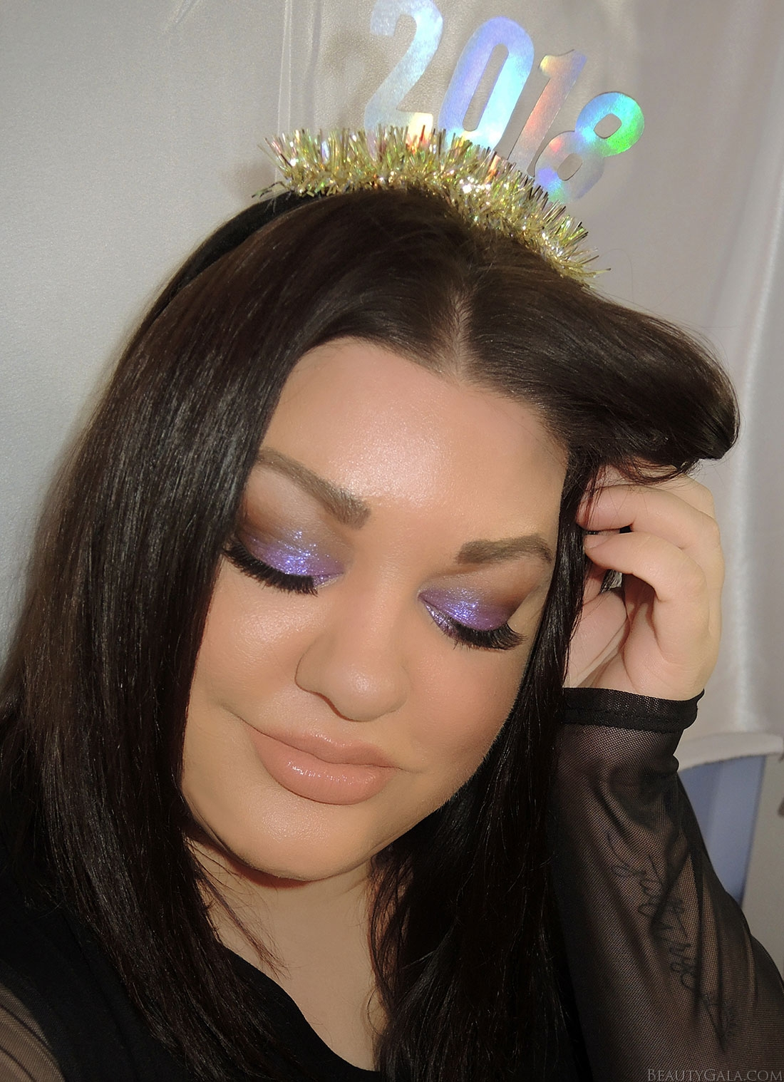 Happy New Year! // New Year's Eve Makeup Look