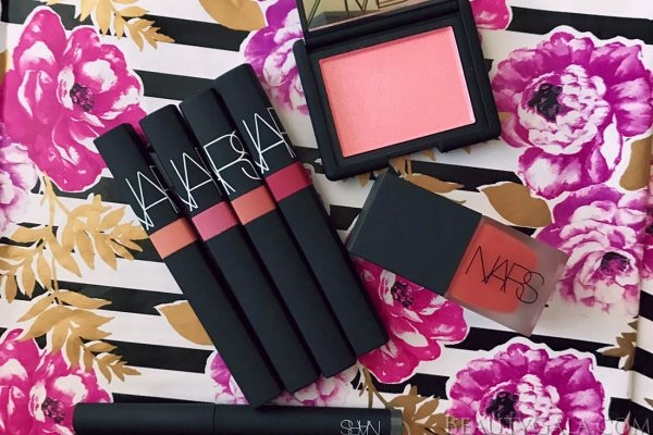 NARS Spring 2018 Swatches & Makeup Look