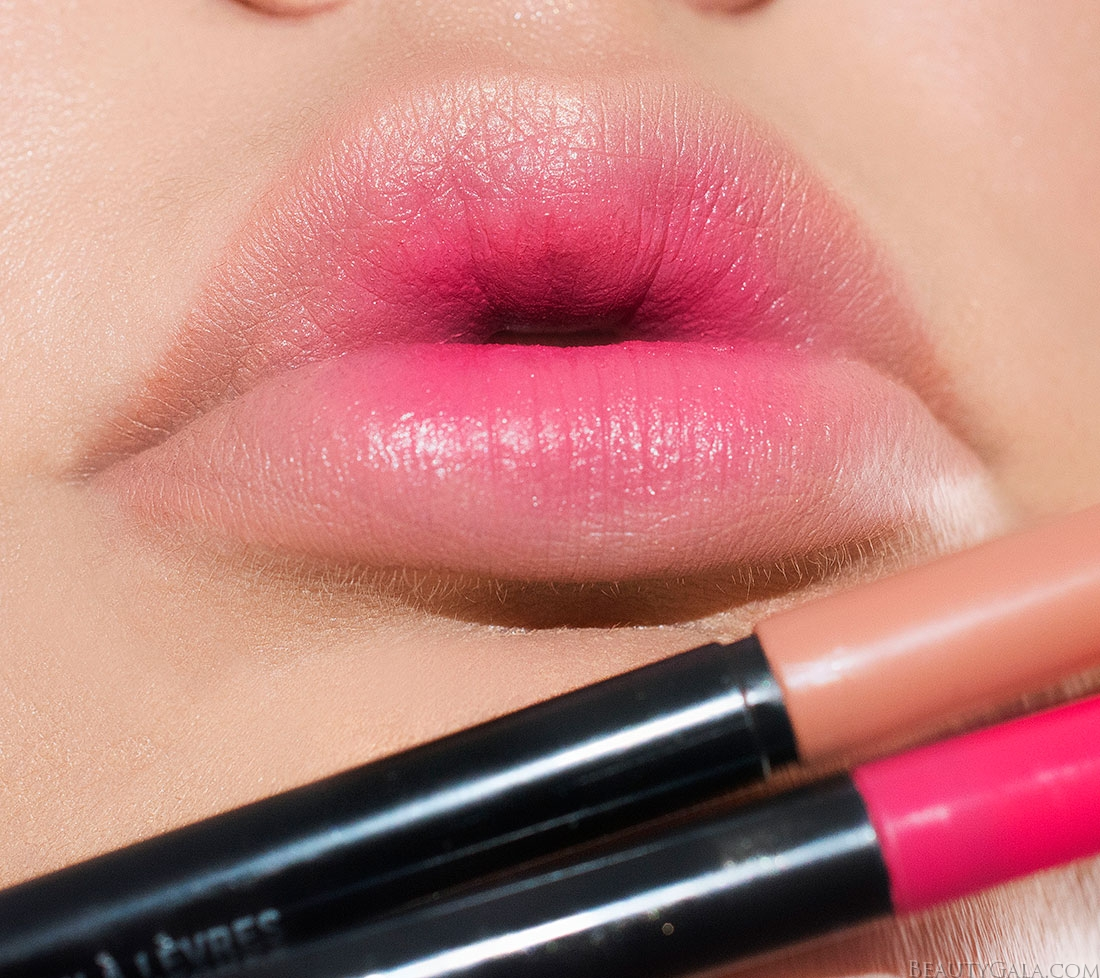 ombre lips, reverse ombre lips, blurred lip, blurred lips, blurred lipstick, popsicle lips